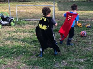 Raising superheroes for a happy life.