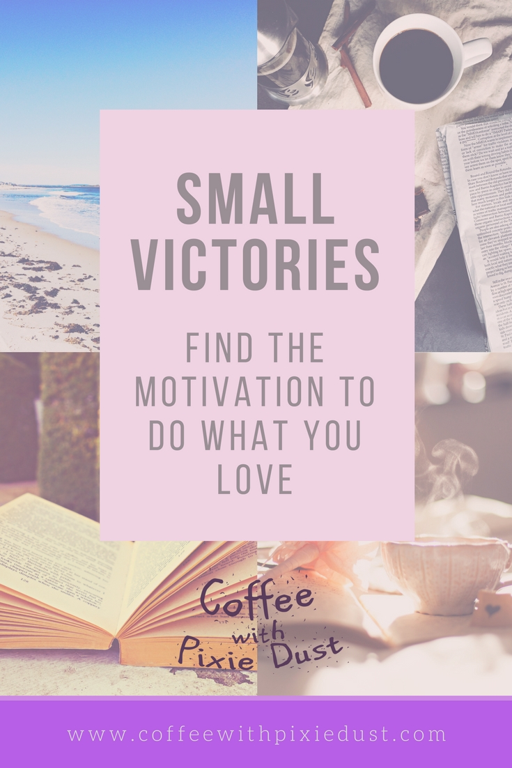 I am making it my goal to motivate more moms to do the things that they have a passion for. You will be motivated to do the things that you love that are apart from your kids and family. I want you to find you hobbies, your likes, your passions and follow them to create small victories!