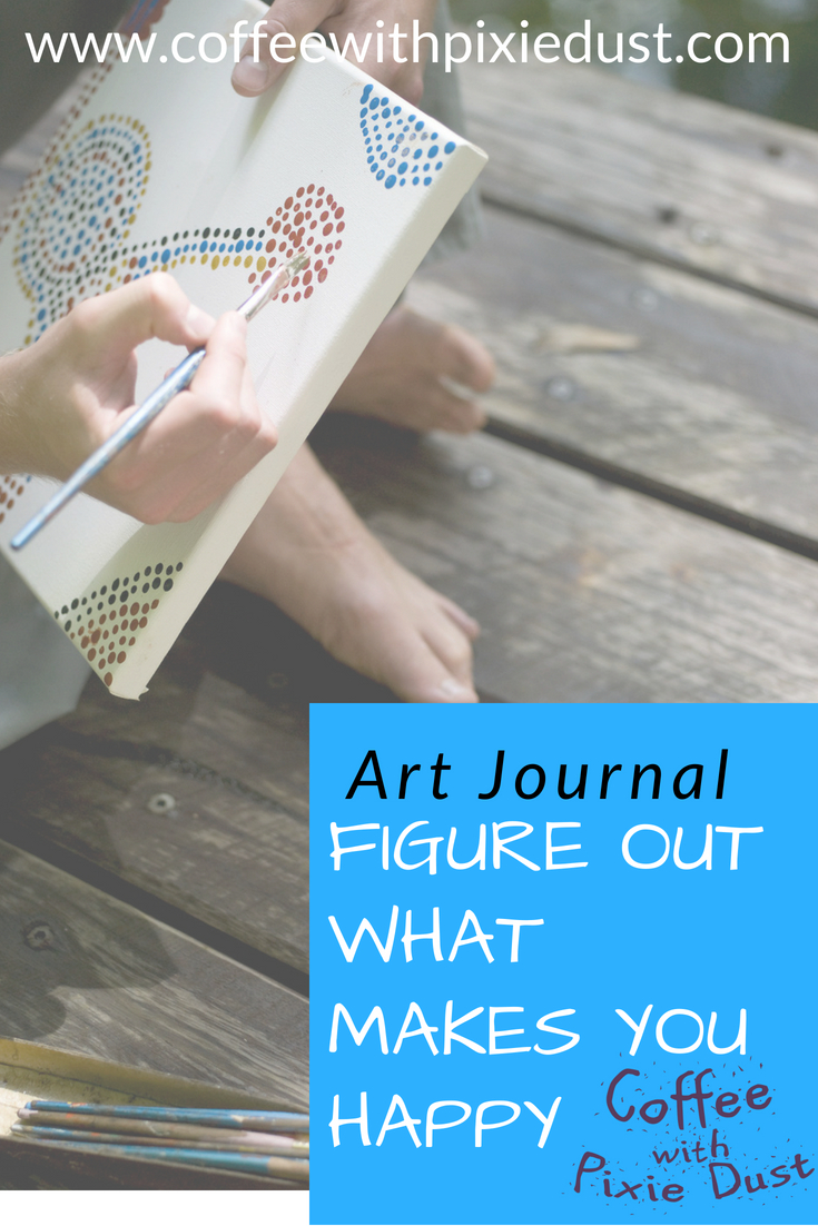 Let's talk happiness is. How to feel happy in your day to day and some activities to help us reflect on what makes our lives great with an art journal.